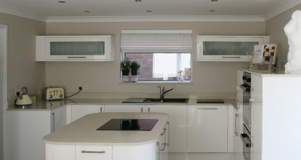 White Kitchen Worktops smart stone – specialists in granite or marble kitchens and